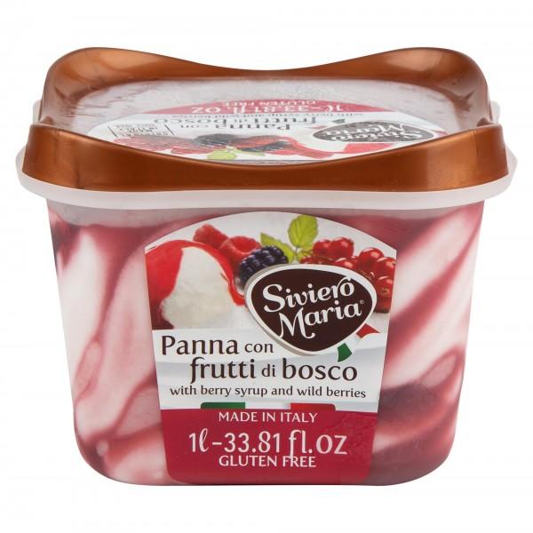 Siviero Maria Panna Con Frutti Di Bosco Ice Cream 500G 491678-V001 by Siviero Maria