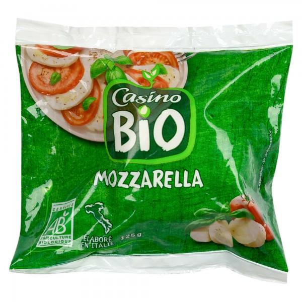 Casino Mozzarella BIO 125G 491946-V001 by Casino
