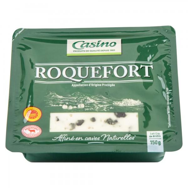 Casino Roquefort Aop 31% Mg 150G 492008-V001 by Casino