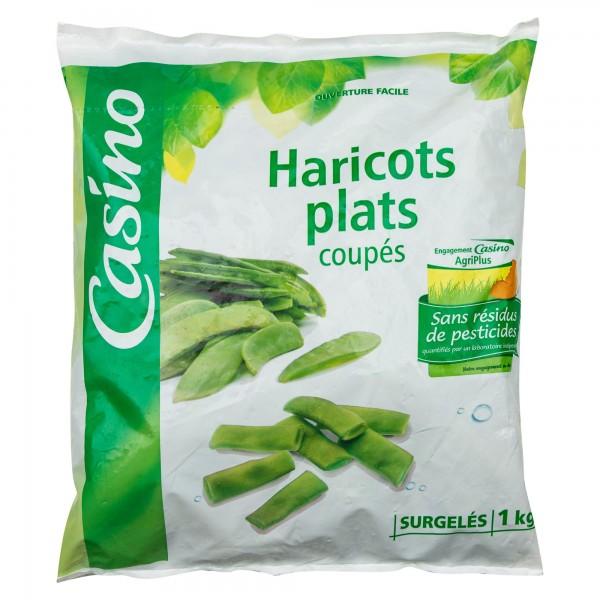 Casino Haricots Plats Coupes 1Kg 492192-V001
