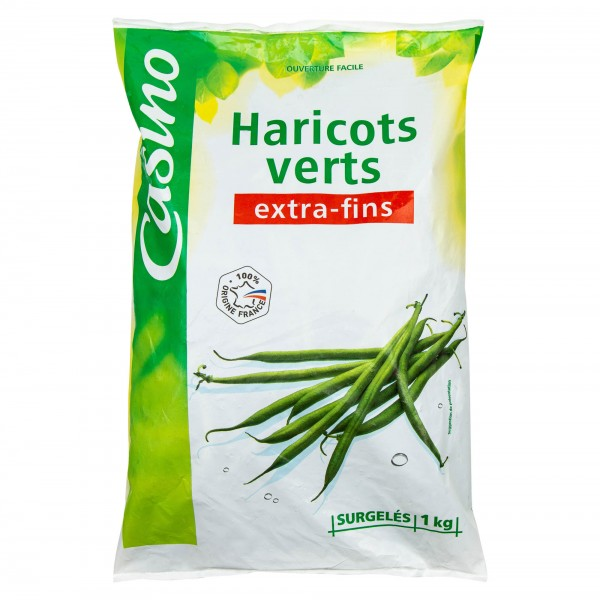 Casino Haricots Verts Extra-Fins 1Kg 492200-V001 by Casino