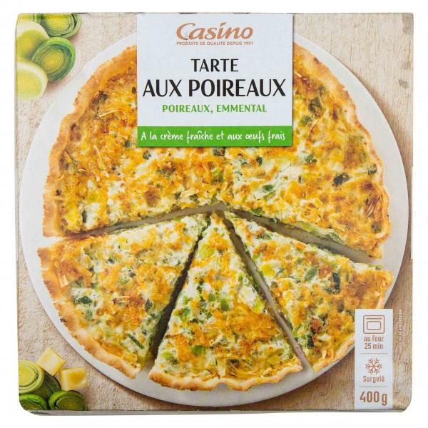 Casino Tarte Aux Poireaux 400G 492204-V001