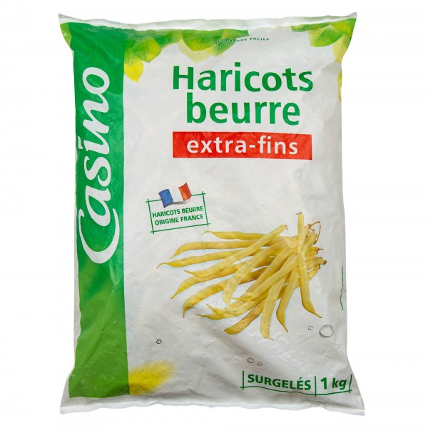 Casino Haricots Beurre Extra-Fins 1Kg 492227-V001