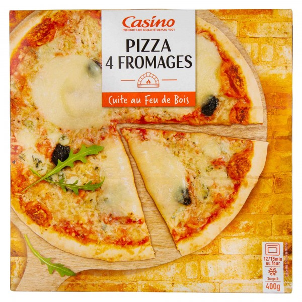 Casino Pizza 4 Fromages 400G 492229-V001