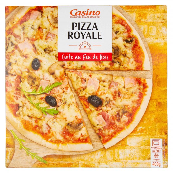 Casino Pizza Royale 400G 492230-V001
