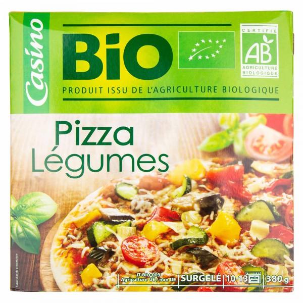 Casino Bio Pizza Legumes 380G 492236-V001 by Casino