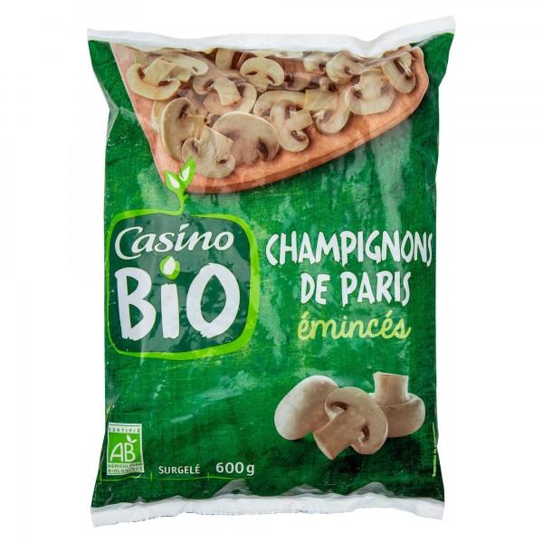 Casino Bio Champignons De Paris Eminces 600G 492239-V001 by Casino