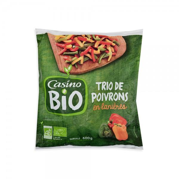 Casino Bio Trio Poivrons Bio - 600G 492248-V001 by Casino