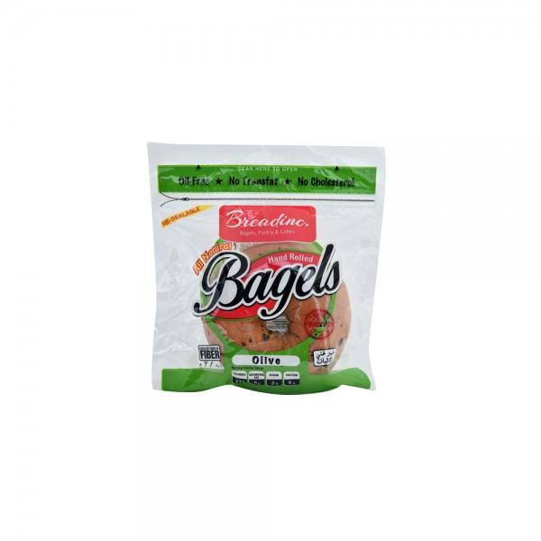 T.Brandinc Olive Bagel Single Pack 120g 492422-V001 by Breadinc