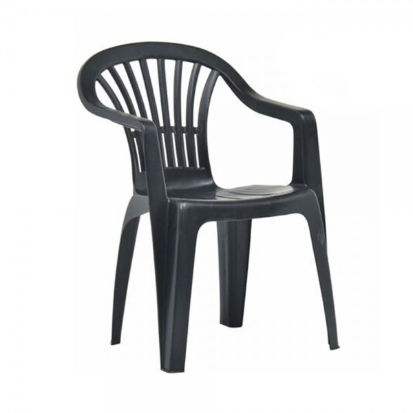 SCILLA MONOBLOCK CHAIR ANTHRACITE 494201-V001 by Pro Garden Collection