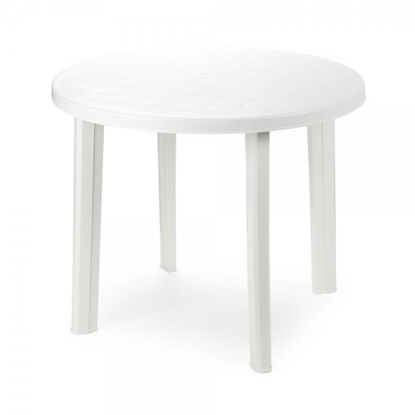 TONDO ROUND TABLE WHITE 494207-V001 by Pro Garden Collection