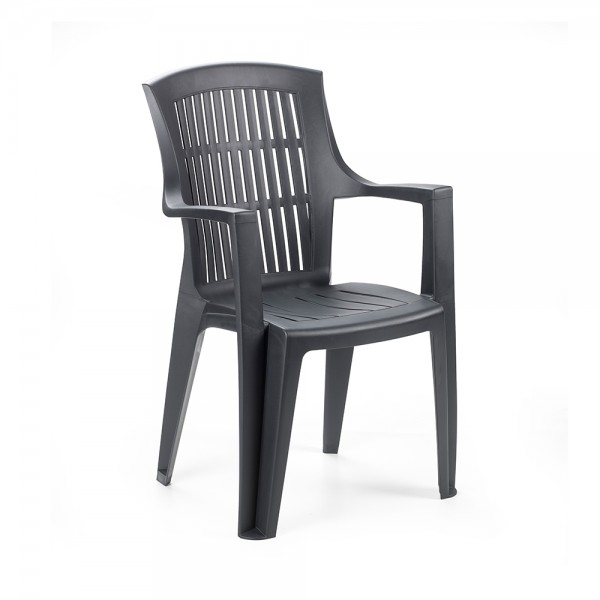 ARPA CHAIR  HIGH BACK ANTHRACITE 494219-V001 by Pro Garden Collection