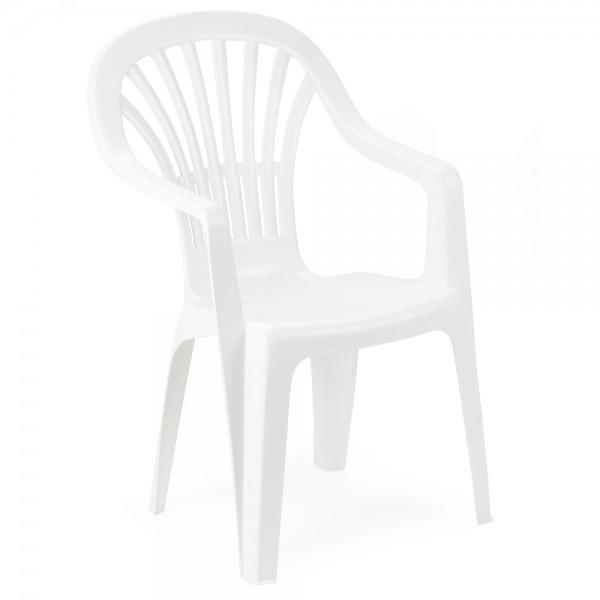 Pro-Garden Zena Chair High Back White - 55X89 494220-V001 by Pro Garden Collection