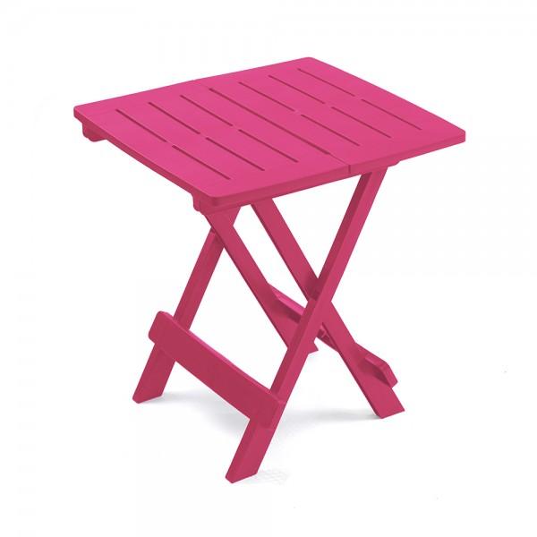 ADIGE FOLDING TABLE FUSHIA 494229-V001 by Pro Garden Collection