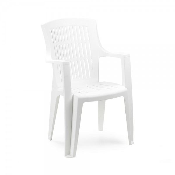 ARPA CHAIR  HIGH BACK WHITE 494231-V001 by Pro Garden Collection