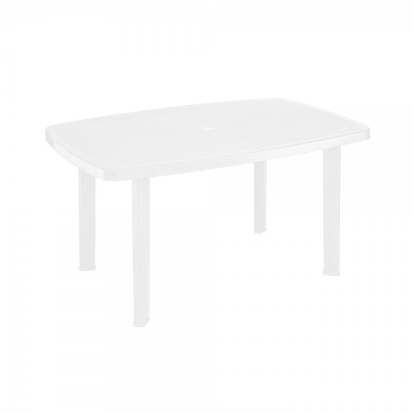 FARO OVAL TABLE WHITE 494291-V001 by Pro Garden Collection