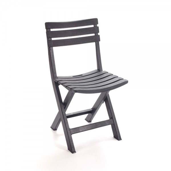 KOMODO FOLDING CHAIR ANTHRACITE 494314-V001 by Pro Garden Collection