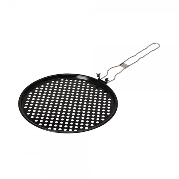 PIZZA PAN WITH FOLDABLE HANDLE 494675-V001 by BBQ