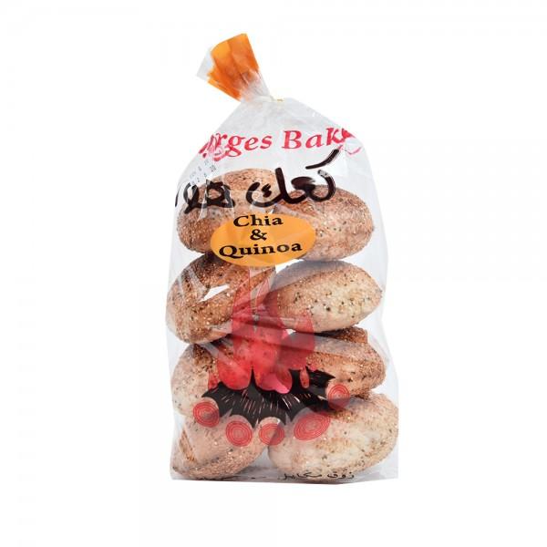Kaak Kaak Hawa Chia+Quinoa 250g 494967-V001 by St. Georges Bakery