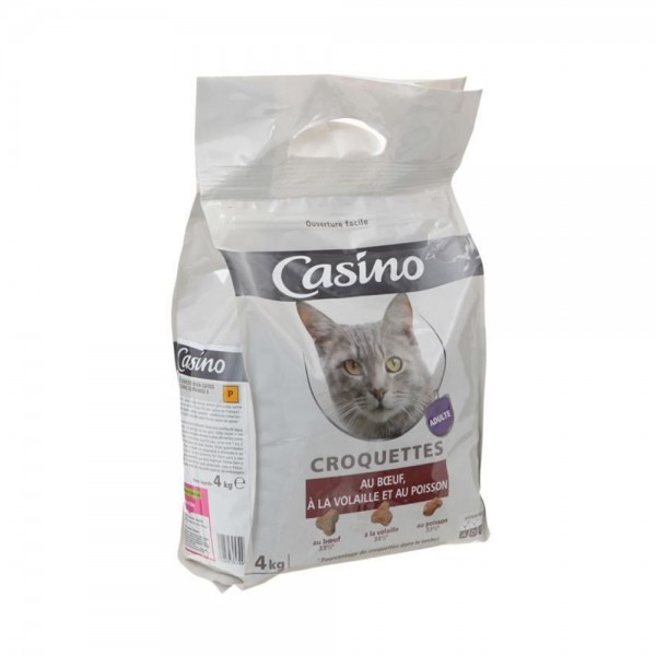 CROQETE CHAT BOEUF VOLAIL POIS 495273-V001 by Casino