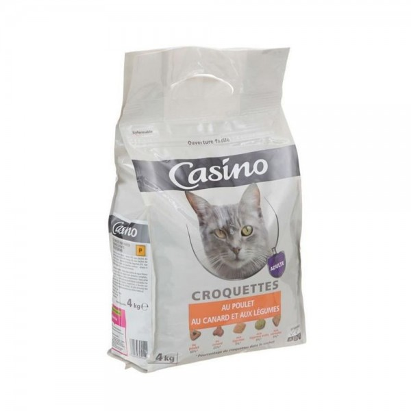 CROQ CHAT POULET CANARD LEGUME 495274-V001 by Casino
