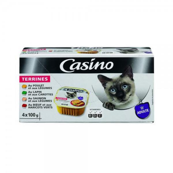 CHAT LOT BARQUET POISSON VIANDE LEG 495308-V001 by Casino