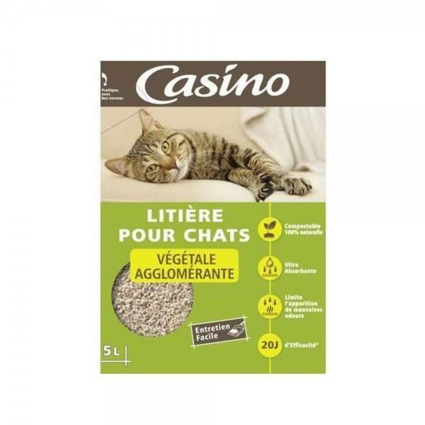 LITIERE AGGLOMERANTE VEGETALE 495354-V001 by Casino