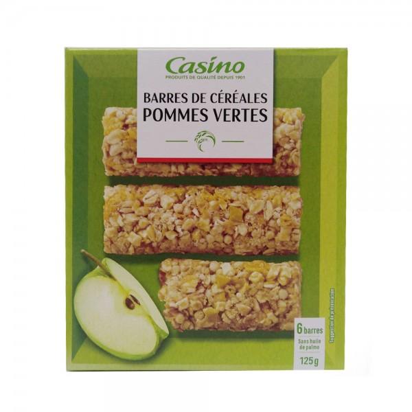 BARRE CEREALE POMME VERT 495374-V001 by Casino
