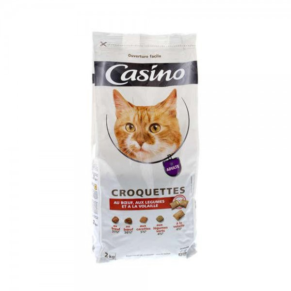 CROQUETTE CHAT BOEUF LEG FOURE 495393-V001 by Casino
