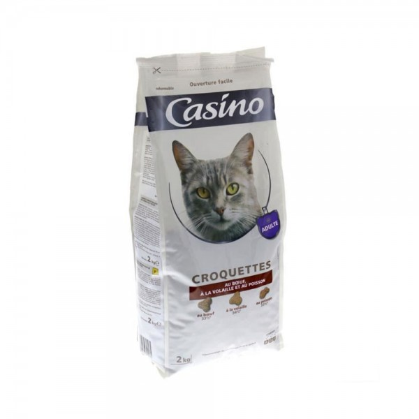 CROQUETTE CHAT VIANDES 495395-V001 by Casino