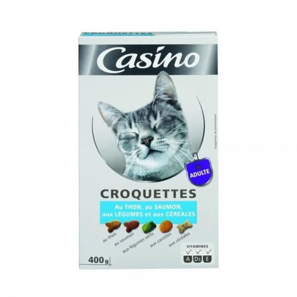 CROQUETTE CHAT THON SAUMON 495399-V001 by Casino