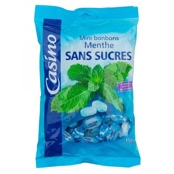 Casino Bonbon Sans Sucre Menthe 150G 495446-V001 by Casino