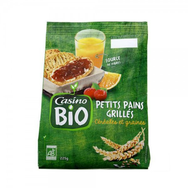 PETIT PAIN GRILLE BIO 495489-V001 by Casino