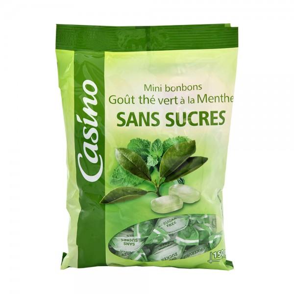 Casino Bonbon Sans Sucre The Vert 150G 495527-V001 by Casino