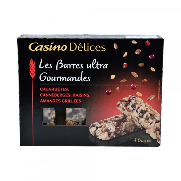 Casino Delices Cocktail Fruits Rouges, Noix 140G 495572-V001 by Casino