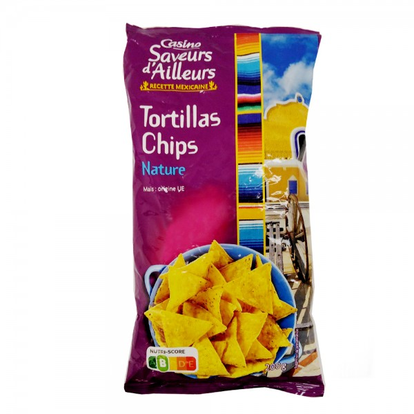 TORTILLA CHIPS SAVEUR AILLEURS 495594-V001 by Casino