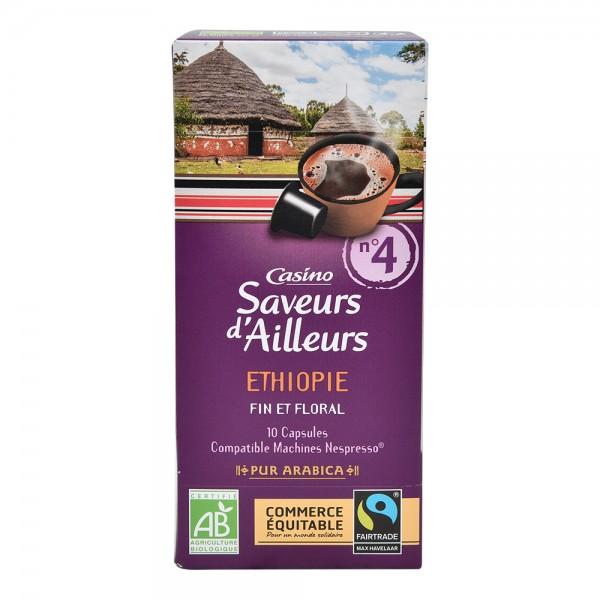 Casino Ethiopie 10 Espresso Capsules 52G 495618-V001 by Casino