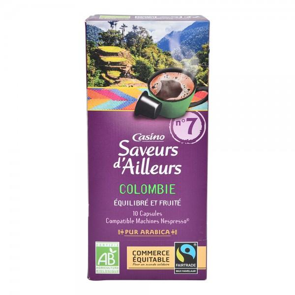 Casino Colombie 10 Espresso Capsules 52G 495619-V001 by Casino