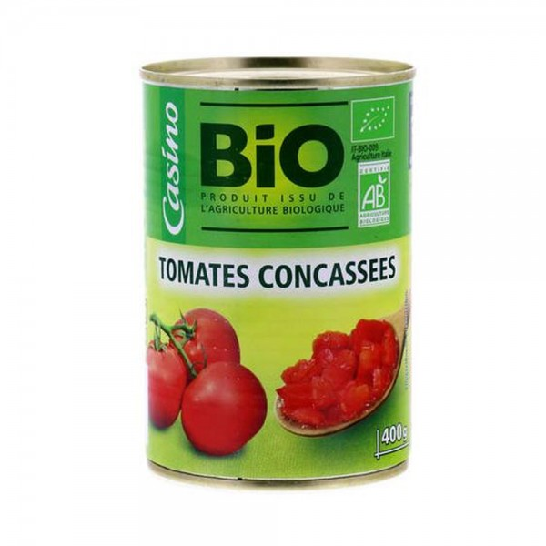 Casino Tomates Concassees Bio 495678-V001 by Casino