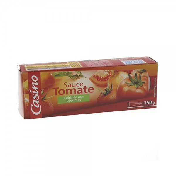 SAUCE TOMATE LEGUMES TUBE 495722-V001 by Casino