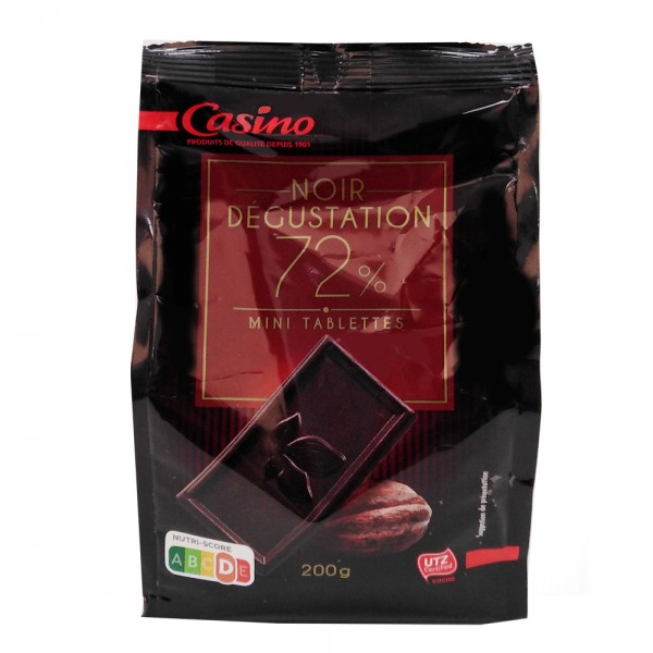CHOC MINI TAB NOIR DEGUSTATION 495788-V001 by Casino