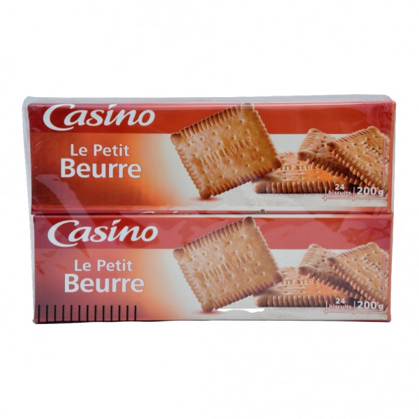 Casino Petit Beurre - 2X200G 495796-V001 by Casino