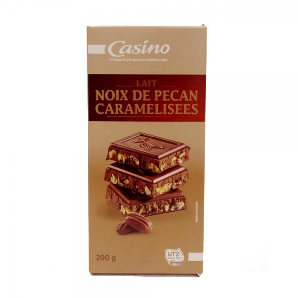 CHOCOLAT LAIT PECAN 495868-V001 by Casino