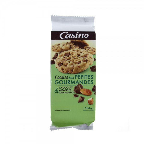 COOKIES CHOCO LAIT AMANDE 495877-V001 by Casino