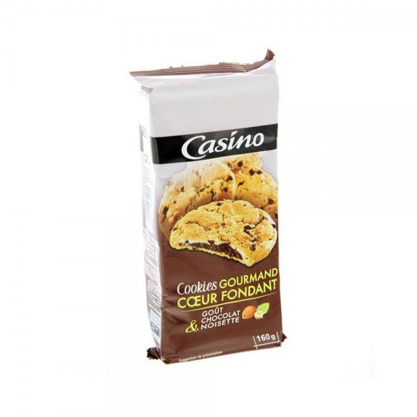 COOKIE COEUR FNDANT CHOCO NOIS 495896-V001 by Casino