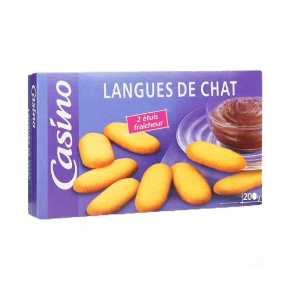 BISCUIT LANGUES DE CHAT 495964-V001 by Casino