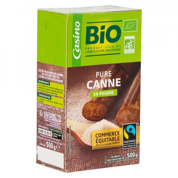Casino Bio Pure Canne En Poudre 500G 496006-V001 by Casino