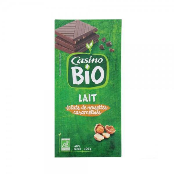 CHOC DEGUSTATION LAIT NOIS BIO 496046-V001 by Casino