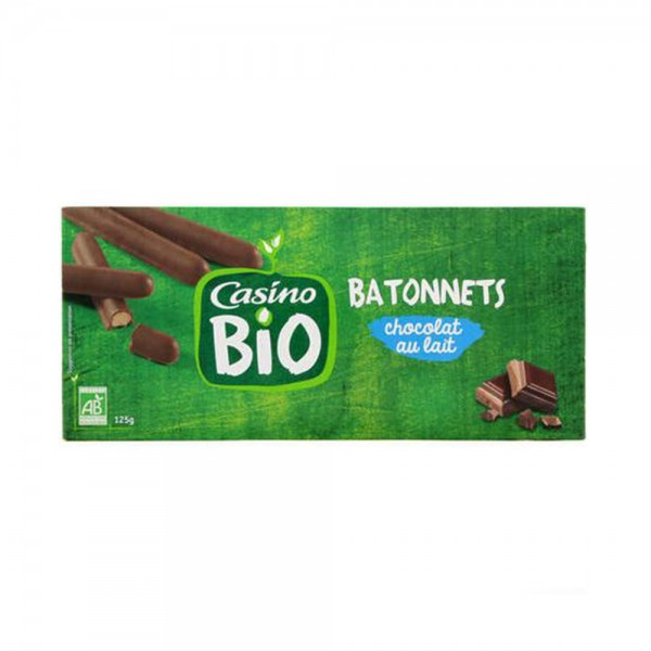BATONNET CHOCO LAIT BIO 496123-V001 by Casino