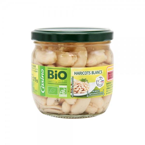 Casino Bio Haricots Blancs Bocal Bio  - 330G 496208-V001 by Casino